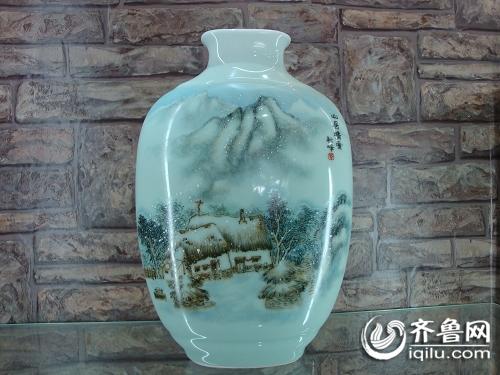 淄博 1600件价值4000万鲁青瓷残次品被砸碎