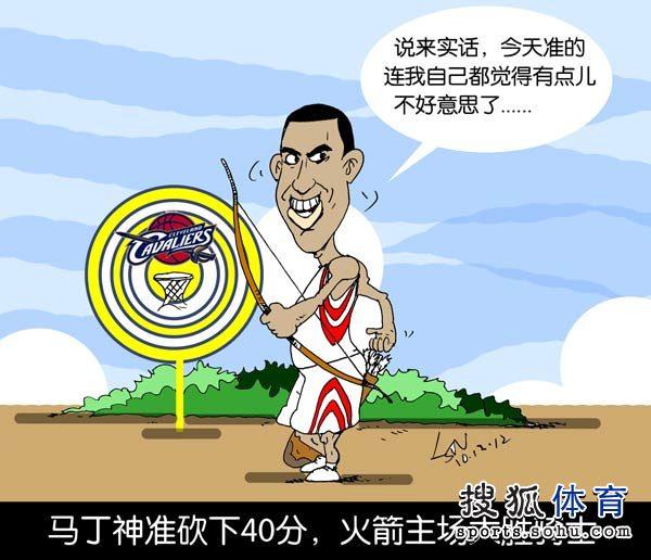 赛季漫画全回顾:中国德比不再 科比圣诞战受辱