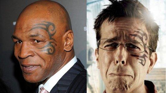 泰森纹身引发官司 纹身作者状告美国电影公司 体育 网图片