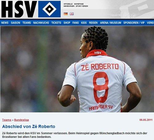 德甲第一外援夏季离队 37岁泽罗伯托黯然返乡