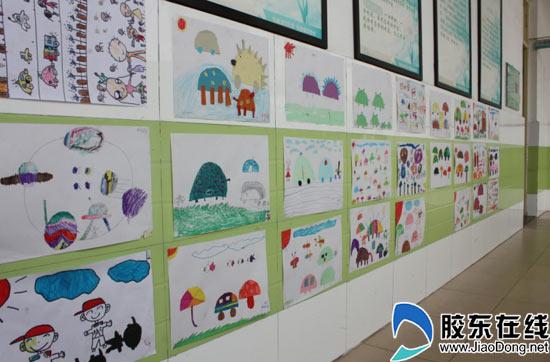 开发区第六小学举行校园美术作品展