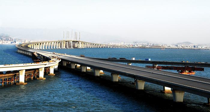 胶州湾大桥28日通车 荷载试验首检合格 青岛 烟台新闻