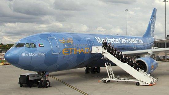 这架a330-200民航飞机日后将会主要往来于曼彻斯特和阿联酋之间,也会