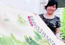 青岛女子耗时两年绣出22米长清明上河图(图)