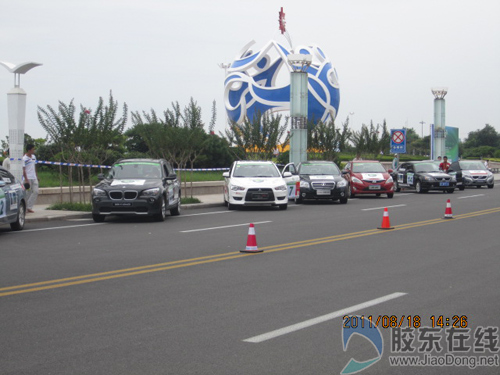 中国节能环保汽车挑战赛 沃尔沃显身手高清图片