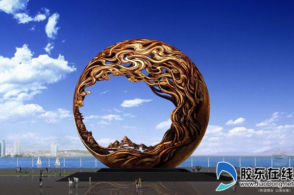 烟台滨海景区城市主题雕塑设计