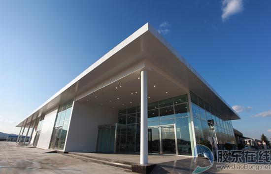 烟台中达宝马全新4s店位于烟台飞机场出口北150