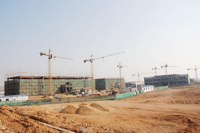 海阳临港产业区建设