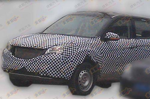 长安紧凑型SUV车型S101谍照 2013年上市高清图片