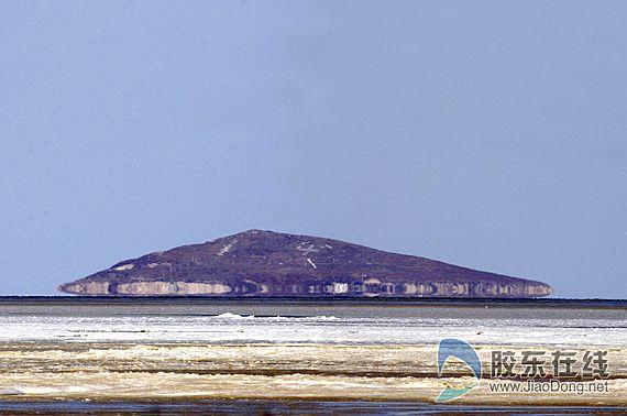 海滋观测地距离真实芙蓉岛的大约1海里,莱州摄影专家表示,海滋是海水