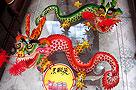 """莱州艺人捐赠面塑""""中国龙"""" 每条龙用面八斤"""