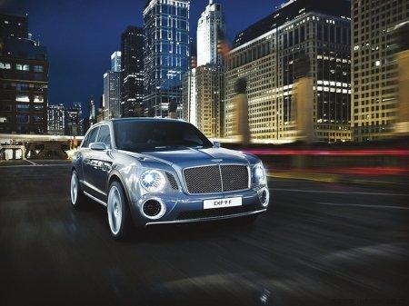 宾利发布豪华SUV概念车 顶级豪车跑马SUV图片 38172 450x337