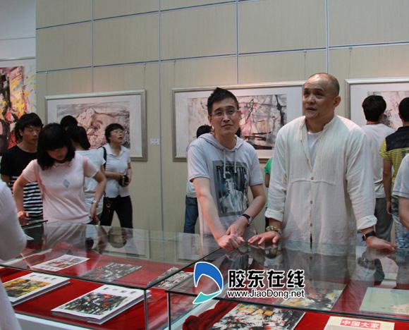 石齐画作捐赠烟台 石齐美术馆6月2日开馆(图)