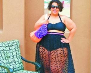 肥胖女尸体_之前有美国肥胖博主号召胖人穿比基尼的运动,这场运动又被称之为\
