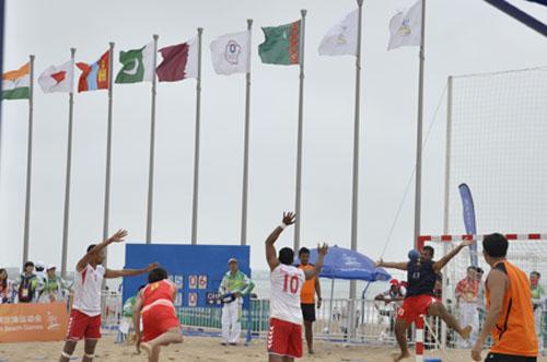 亚沙会20日手球中国对阵巴林