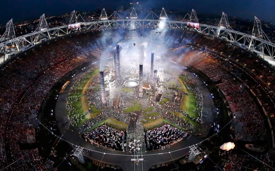 还记得北京奥运会那个安静的梦幻五环吗