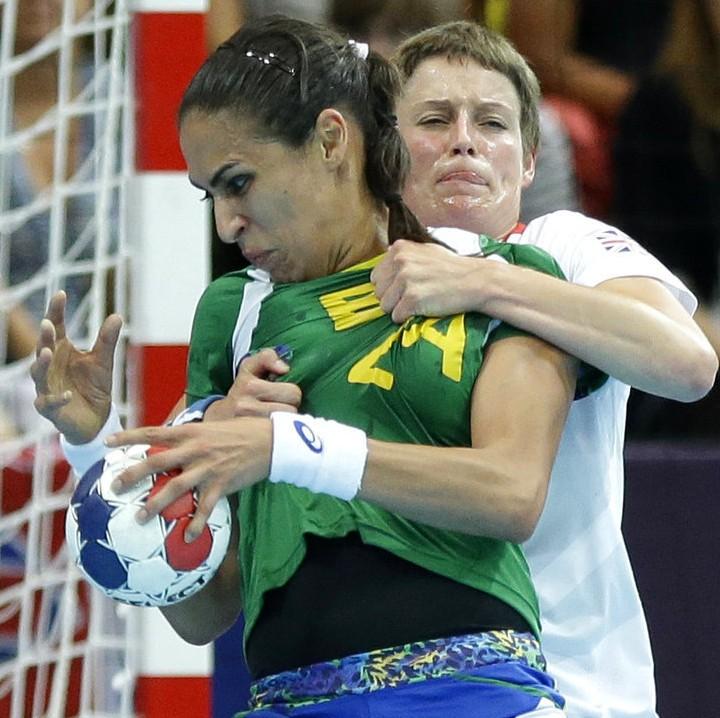 奥运逋:巴西美女选手惨遭暴力袭胸