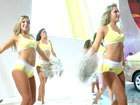 美国NBA爵士队啦啦队激情热舞
