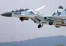 俄罗斯国防部苏-30SM最新型战斗机首次升空(图)