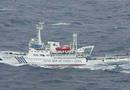 中国最新锐海监137船巡航钓鱼岛海域(图)