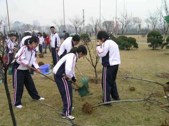 烟台开发区高级中学特色活动:公益活动