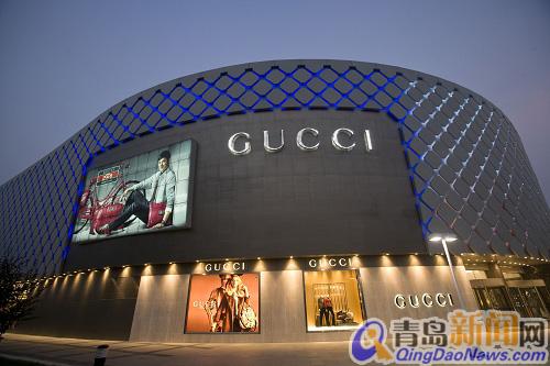 新闻中心 山东 山东新闻 正文  香港中路商业区著名商场:青岛海信广场