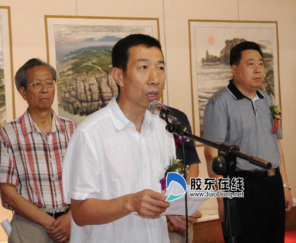 北京林业大学艺术设计学院副院长张继晓致辞