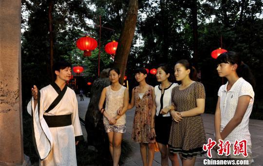 """""""2013夜游武侯祠""""开启""""戏说三国""""主题季"""