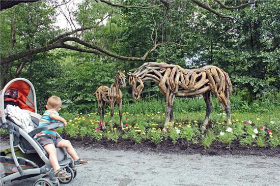 仿真植物动物雕塑