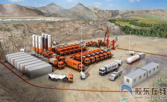 杰瑞已成为全球最大的油田增产完井设备制造商,中国最大的压缩机进口