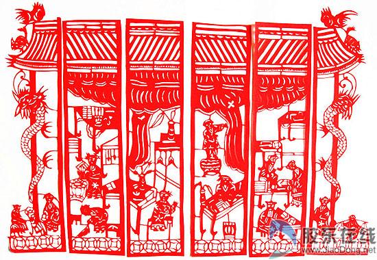 中国古代窗棱矢量图