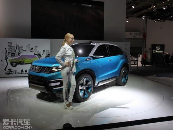 昌河铃木将推小型SUV 最早于2014年发布高清图片