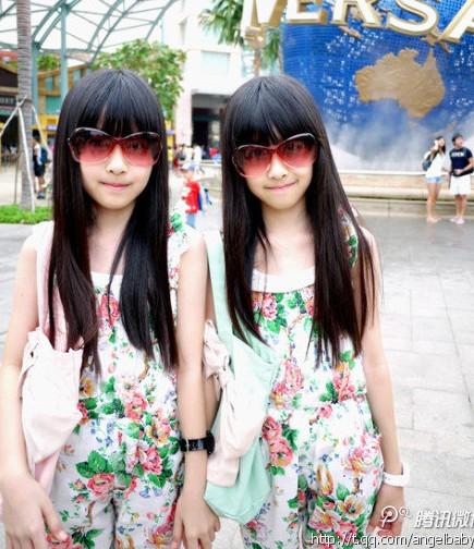 清华学霸姐妹_台湾双胞胎姐妹花近照曝光 气质清新甜美__烟台教育网__胶东在线