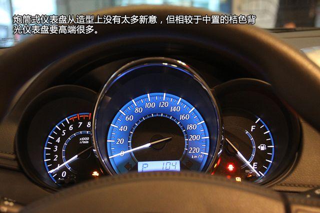 丰田汽车仪表盘指示灯图解