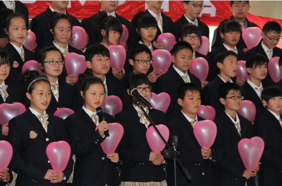 开发区第五初级中学举行庆元旦艺术节合唱比赛初中石室图片