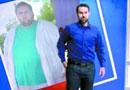 美国一男子减肥178公斤 曾被自己倒影吓到(图)