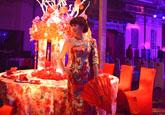 4D特效婚礼秀首现烟台 新娘美若仙女如梦如幻