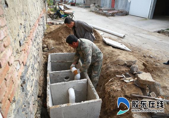 农村厕所用的化粪池怎么建造?能够四个人用的化 ...