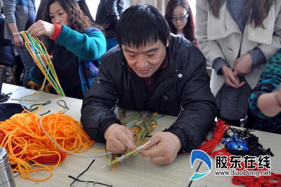 青岛大学工业设计工程专业纤维艺术课程