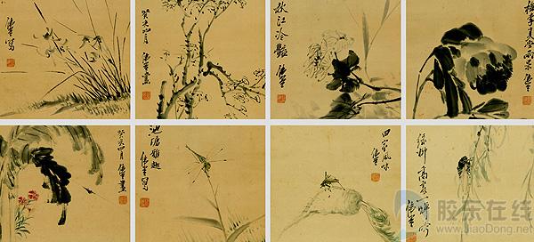 掖县历代名人字画 -胶东文化网-胶东在线