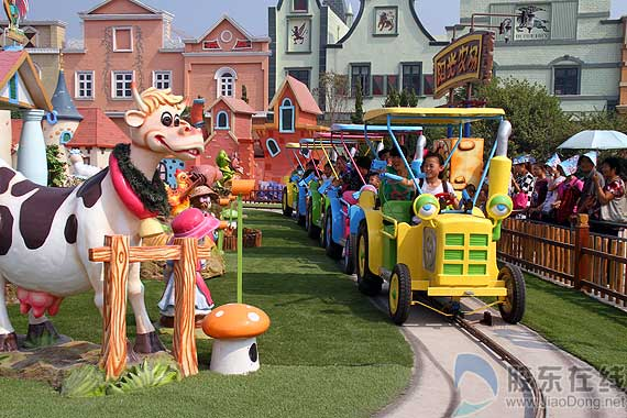 蓬莱欧乐堡儿童老人六一儿童节有惊喜(图)