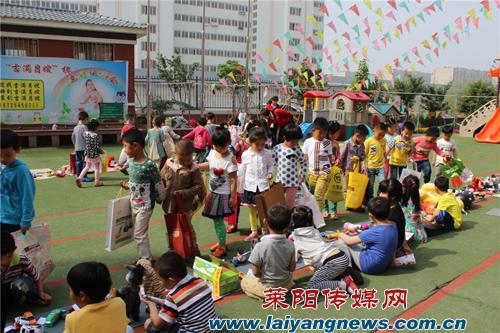 """温馨苑幼儿园""""爱心跳蚤市场""""隆重开业"""