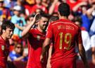 热身赛-比利亚2球小法失点 西班牙2-0萨尔瓦多