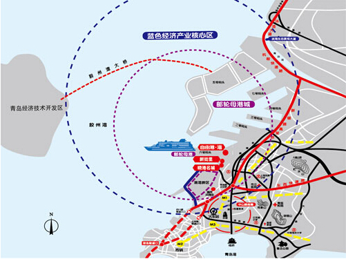 青岛湾老城区改造范围