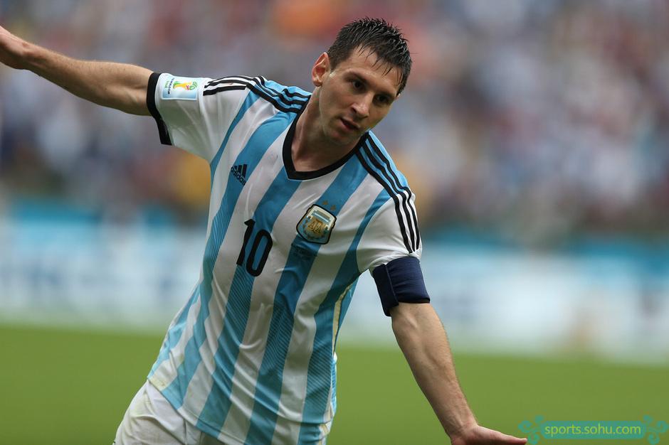高清图:世界杯阿根廷胜尼日利亚 梅西独中两元