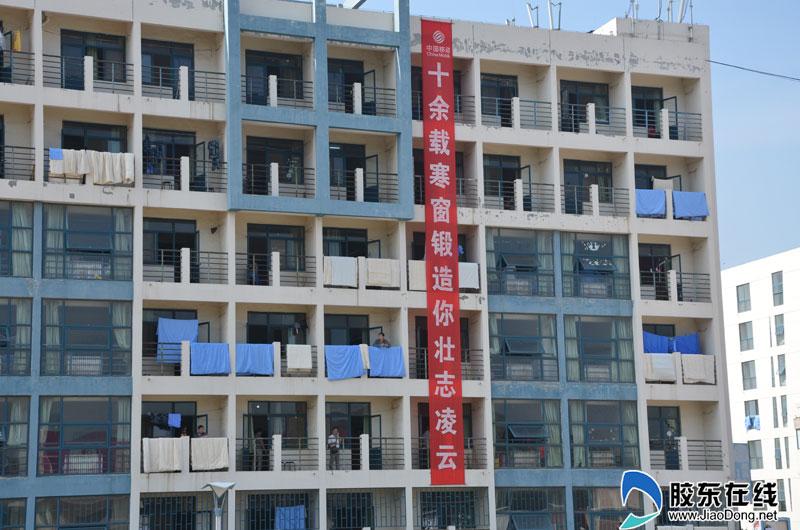杭州lc潮流店大学迎新标语各出奇招 励志向上不乏活泼卖萌