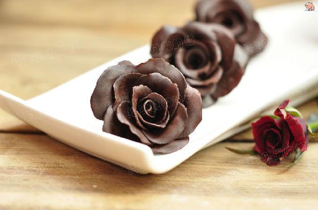 巧克力玫瑰花__业达传媒网