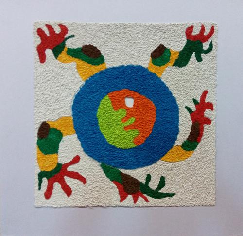 幼儿园小班美术作品 幼儿园中班美术作品 幼儿园美术作品展