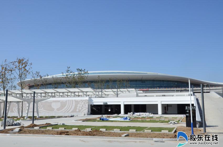 探班烟台蓬莱国际机场建设