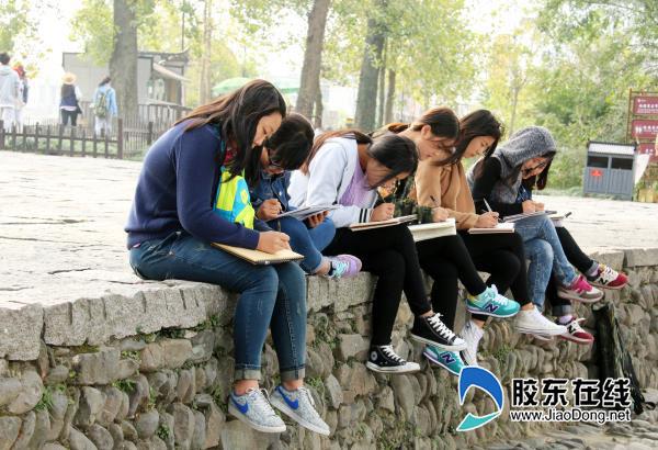正文  烟台一职专开展安徽宏村 太行山师生写生活动   胶东在线网10月